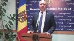 Declarațiile lui Pavel Filip după ședința Guvernului Republicii Moldova din 21 ianuarie 2016