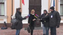 Declarațiile Irinei Vlah după depunerea jurământului