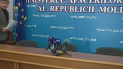 Conferință de presă privind asigurarea ordinii publice la mitingul ce se va desfășura în capitală, duminică, 24 ianuarie