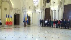 Ceremonia de decorare a Comisiei Fulbright Româno – Americană de către președintele României, Klaus Iohannis