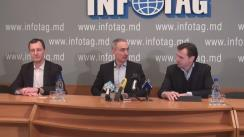 """Conferință de presă cu tema """"Atitudinea Partidului Societății Progresiste  față de acțiunile de protest din Chișinău"""""""