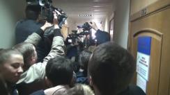 Declarațiile lui Vlad Filat înainte de ședința de judecată