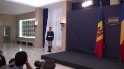 Întâlnirea prim-ministrului României, Dacian Cioloș, cu prim-ministrul Republicii Moldova, Pavel Filip (imagini protocolare)
