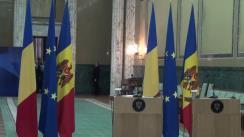 Conferință de presă susținută de prim-ministrul României, Dacian Cioloș, și prim-ministrul Republicii Moldova, Pavel Filip