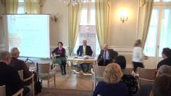 """Dezbaterea organizată de Fundația Europeană Titulescu și Centrul de Studii Strategice cu tema """"Câte viteze are Europa Centrală?"""""""