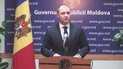 Declarațiile lui Vladimir Cebotari după ședința Guvernului Republicii Moldova din 27 ianuarie 2016