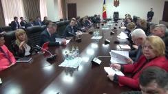 Întrevederea prim-ministrului Pavel Filip cu reprezentanții mediului de afaceri din Republica Moldova