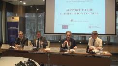 """Conferința de lansare a proiectului Uniunii Europene """"Suport pentru Consiliul Concurenței"""""""