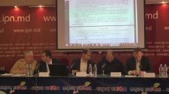 """Conferință de presă organizată de un grup de experți independenți în energetică cu tema """"Tarifele exagerate în sectorul energetic: ce trebuie să întreprindem? Opinia experților din societatea civilă"""""""