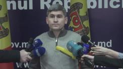 Declarațiile lui Alexandru Jizdan după ședința convocată în legătură cu incendiul produs noaptea trecută în satul Trinca din raionul Edineț