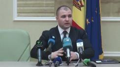 Conferință de presă organizată de Ministerul Justiției privind moratoriu la controale de stat