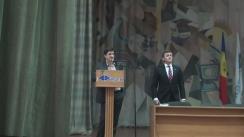 """Prelegerea susținută de președintele CEC, Iurie Ciocan, cu tema """"Democrația ești TU, alege conștient"""""""