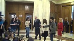 Declarația lui Liviu Dragnea privind amânarea semnării protocolului de colaborare UNPR-PSD