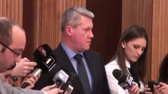 Declarațiile lui Cătălin Predoiu după ședința Comitetului Executiv al PNL București