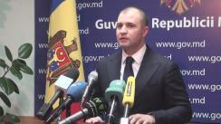 Declarațiile lui Vladimir Cebotari după ședința Guvernului Republicii Moldova din 3 februarie 2016
