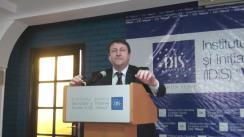 """Dezbaterea organizată de IDIS Viitorul și Fundația Universitară a Mării Negre cu tema """"Fondul Moldova - Planul Marshall al României pentru Republica Moldova"""""""