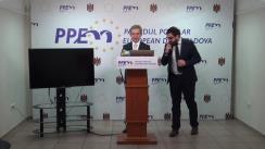 Lansarea procesului de constituire a organizației diasporale a PPEM, precum și a Programului PPEM pentru Diasporă