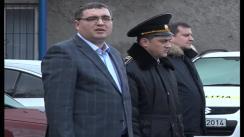 Prezentarea noii uniforme a polițiștilor din municipiul Bălți, de către primarul Renato Usatîi