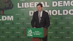 Briefing susținut de deputatul PLDM, Chiril Lucinschi