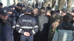 Protest organizat de Partidul Nostru față de realegerea lui Mihai Poalelungi în calitate de președinte al Curții Supreme de Justiție