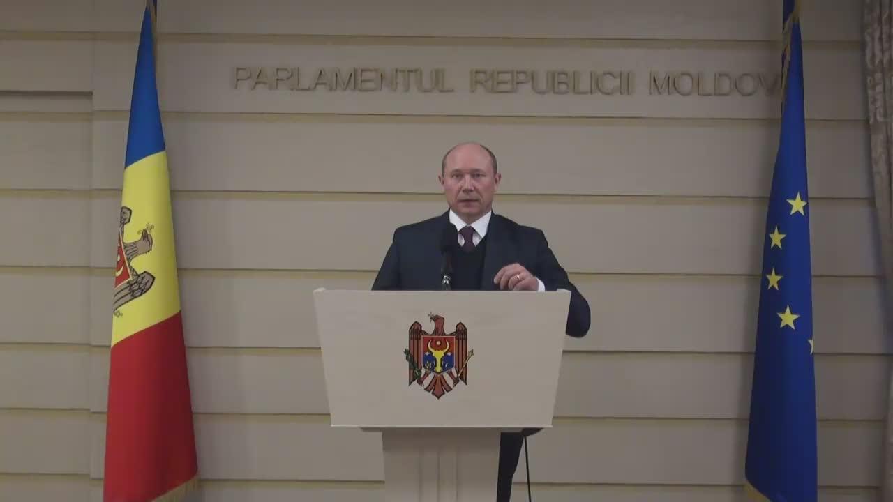 Declarațiile lui Valeriu Streleț după întrevederea cu raportorul Parlamentului European pentru Republica Moldova, Petras Auštrevičius