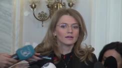 Declarațiile Alinei Gorghiu înainte de reuniunea Biroului Politic Național al PNL din 8 februarie 2016