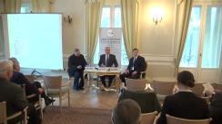 """Dezbaterea organizată de Fundația Europeană Titulescu și Centrul de Studii Strategice cu tema """"Evoluția relațiilor internaționale – între universalism și particularism"""""""