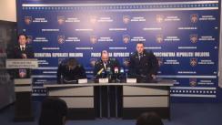 Conferință de presă organizată de Procuratura Generală privind contracararea activității mercenarilor