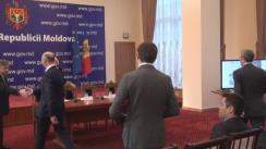 """Evenimentul de lansare a Programului de granturi tematice destinat cetățenilor Republicii Moldova de peste hotare """"Diaspora Engagement Hub"""""""