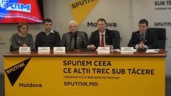 """Conferință de presă cu tema """"Prezentarea Partidului Ruso-Slavon al Moldovei și prezentarea programului partidului"""""""