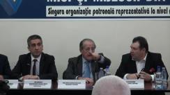 Conferință de presă susținută de Consiliul Național al Întreprinderilor Private Mici și Mijlocii din România