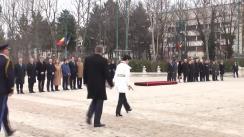 Ceremonia oficială de primire a Președintelui Republicii Moldova, Nicolae Timofti, la Palatul Cotroceni