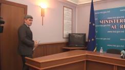 Conferință de presă cu privire la perchezițiile efectuate la sediul Centrului Unic de Monitorizare și Coordonare al INP de către angajații SPIA
