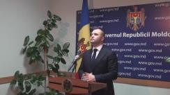 Declarațiile lui Vladimir Cebotari după ședința Guvernului Republicii Moldova din 17 februarie 2016