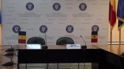 Conferință de presă susținută de ministrul dezvoltării regionale și administrației publice din România, Vasile Dîncu, și ministrul dezvoltării regionale și construcțiilor din Republica Moldova, Vasile Bîtca