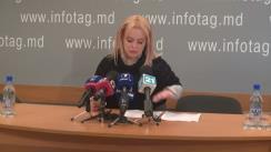 """Conferință de presă susținută de avocata Ana Ursachi cu tema """"Detalii privind decizia de astăzi în dosarul Grupului Petrenco. Și nu doar"""""""
