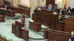 Ședința în plen a Senatului României din 23 februarie 2016