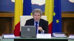 Ședința Guvernului României din 24 februarie 2016 (imagini protocolare)