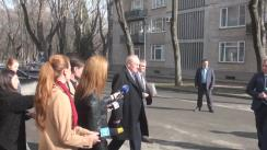 Declarațiile lui Nicolae Timofti după ședința Consiliului Suprem de Securitate din 24 februarie 2016