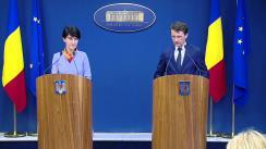 Conferință de presă după ședința Guvernului României din 24 februarie 2016