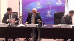 Conferință de presă organizată de Agenția Națională Împotriva Traficului de Persoane cu prilejul lansării primei cereri de proiecte pentru finanțarea asistenței directe acordată victimelor traficului de persoane