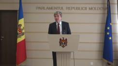 Declarațiile lui Eugen Carpov în timpul ședinței Parlamentului din 25 februarie 2016