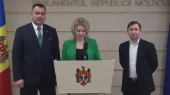 Declarațiile Violetei Ivanov și Artur Reșetnicov în timpul ședinței Parlamentului din 26 februarie 2016