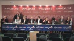 """Conferința de presă cu tema """"Cu privire la neglijarea de către guvernare a revendicărilor Forumului Civic"""""""