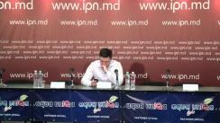"""Conferința de presă cu tema """"Dăm start ReUnirii pe 27 martie: adunare a Sfatului Țării-2 și marș unionist"""""""