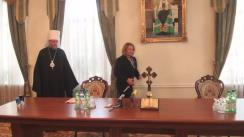 Semnarea memorandumului de colaborare între Ministerul Muncii, Protecției Sociale și Familiei și Mitropolia Chișinăului și a Întregii Moldove, privind sporirea eforturilor comune în susținerea familiei și copilului
