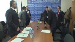 Ședința specială organizată de Ministerul Transporturilor și Infrastructurii Drumurilor cu managerul companiei OHL ZS despre executarea lucrărilor de reabilitare a drumului național R1 Chișinău-Ungheni-Sculeni