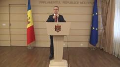 Declarațiile lui Sergiu Sîrbu în timpul ședinței Parlamentului Republicii Moldova din 4 martie 2016