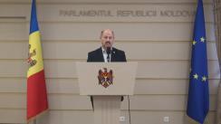 Declarațiile lui Ștefan Vlas în timpul ședinței Parlamentului Republicii Moldova din 4 martie 2016
