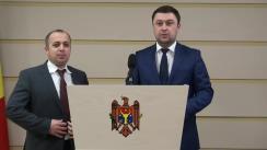 Declarațiile lui Ștefan Creangă și George Mocanu în timpul ședinței Parlamentului Republicii Moldova din 4 martie 2016